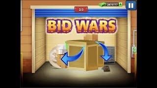 Super lucky Dumpster Diving + Diamond & Daily Auctions! Bid Wars original #123 gameplay