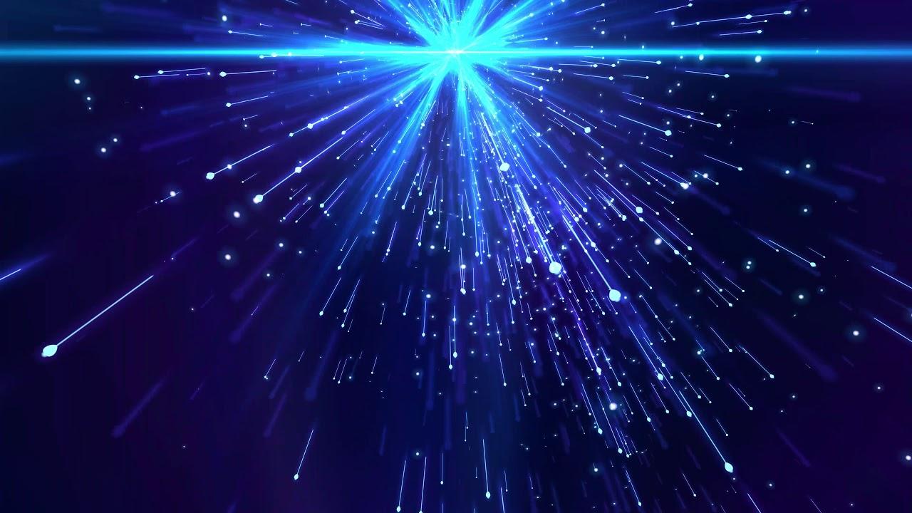 4K BLUE WORSHIP BACKGROUND 🌟 Comet Shine Animation #AAVFX