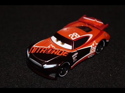 Mattel Disney Cars 3 Nitroade 28 Tim Treadless Next