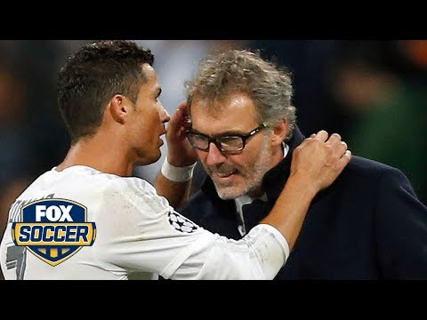 What did Cristiano Ronaldo whisper to Laurent Blanc?