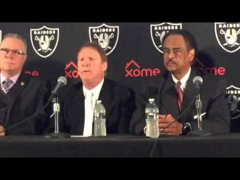 Oakland Raiders Coliseum JPA Press Conference To Announce Lease V1