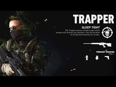 TRAPPER OPERATOR GAMEPLAY! // GAS TRAP + MELEE = ULTIMATE TROLL! | Ghost Recon Wildlands PVP