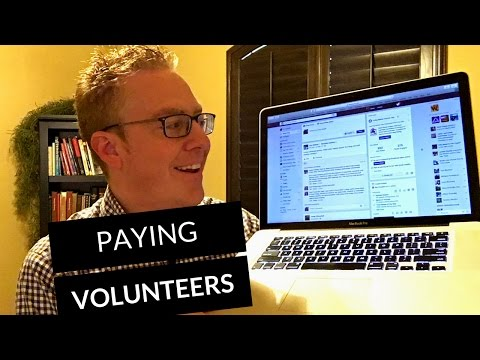 How to pay your band and volunteers with no budget