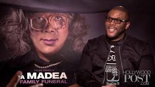 Tyler Perry Interview for Last Madea Film - A MADEA FAMILY FUNERAL ⚰️