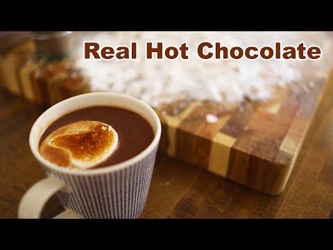 Hot Chocolate with Homemade Honey Marshmallows
