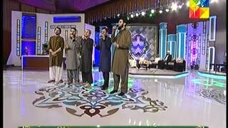 Rahim shah Reciting Qasida Burda Sharif Maula Ya Salli Wa Sallim Jashn e Ramazan  HUM Tv Show