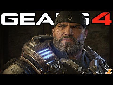 Gears of War 4 Xbox One X - Free Update, 4K Resolution & More!