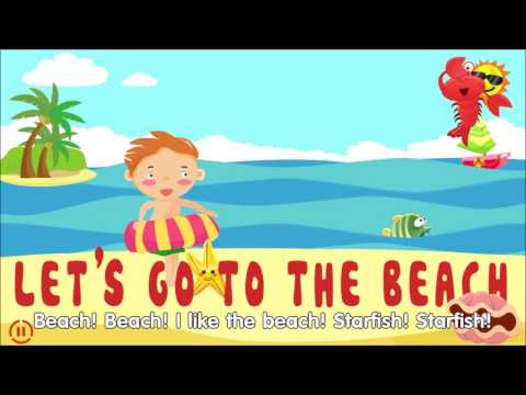 Let's Go To The Beach - English Songs For Kids