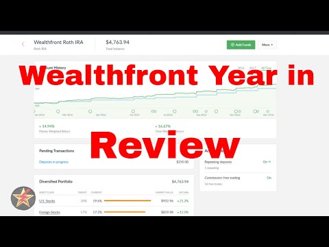 Wealthfront Year in Review