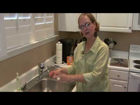Cleaning Kitchens : How to Clean a Stainless Steel Sink