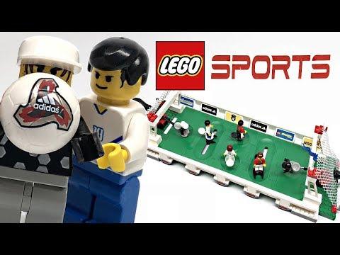 Rare LEGO Sports Football 3 vs 3 Shootout review! 2002 set 3421!