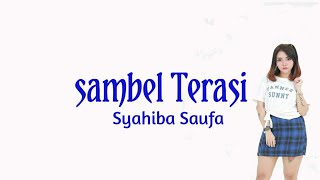 Gambar cover Sambel Terasi - Syahiba Saufa (LIRIK LAGU)