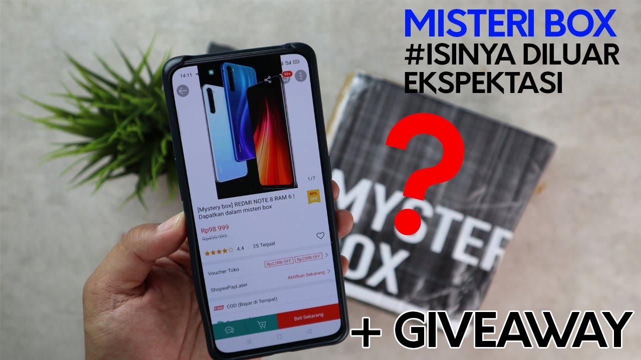 UNBOXING MYSTERI BOX 98RIBU - HADIAHNYA SMARTPHONE??