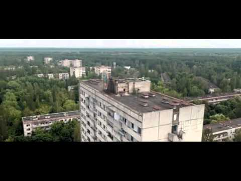 Drone in Pripyat (Chernobyl)  Postcards from Pripyat
