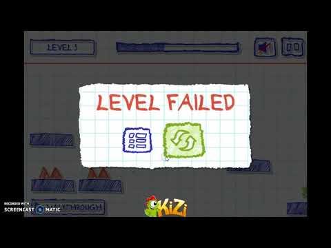 I Hate Geometry Dash ._. (lvl 5 Paper Dash Gameplay)