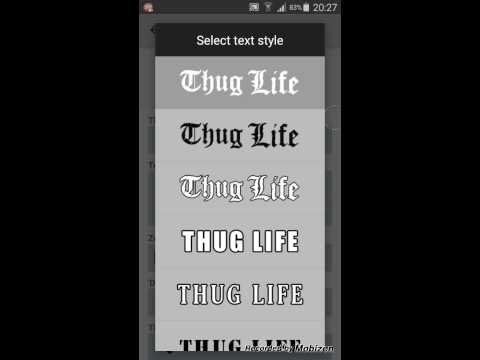COME FARE I THUG LIFE (TUTORIAL)