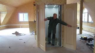 видео лифт в коттедж