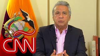 Lenín Moreno desde Guayaquil: Correa es un prófugo de la justicia de Ecuador