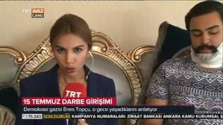 Gambar cover Göğsümüzü Namluların Ucuna Siper Ettik - Demokrasi Gazisi Enes Topçu - TRT Avaz