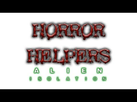 Spencer's dropped in a random Save of Alien Isolation! *Horror Gaming for Charity ep15)