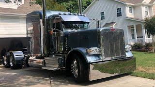 Купил новый грузовик Peterbilt 389 за 190 тысяч$ Полный обзор