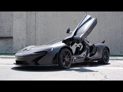 Watch This Full-Carbon, Naked McLaren P1 Tear Through California