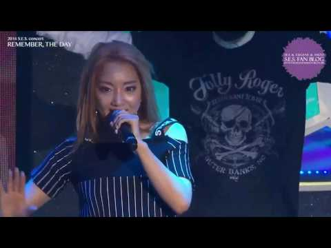 S.E.S. - 'Cause I'm your Girl 161231 2016 S.E.S. concert REMEMBER, THE DAY