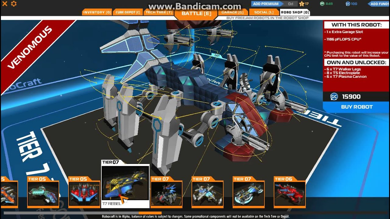 Robocraft Hack