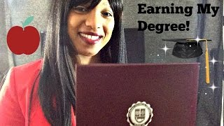 I Graduated! My Online College Experience.