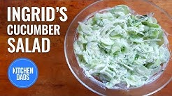 How to Make a German Cucumber Salad | Kitchen Dads Cooking