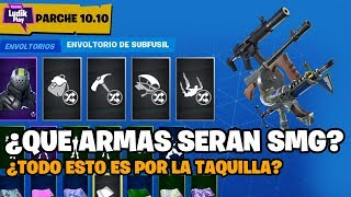 QUOI WEAPONS WILL FORM THE NEW SMG TYPE? C'EST À PROPOS DU CASIER ? FORTNITE SAUVE LE MONDE