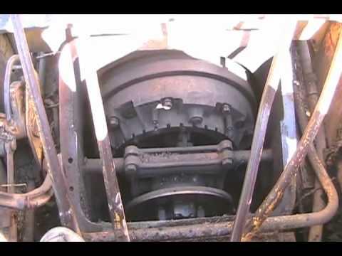 Replace big bulldozer clutch, part 1 of 2 aftermath of skyhill - dozer  Davidsfarmison[bliptv]now