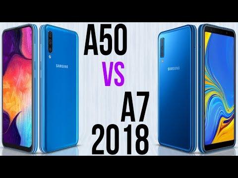 A50 Vs A7 2018 (Comparativo)