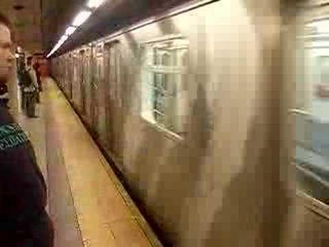 Metro in New York Manhattan