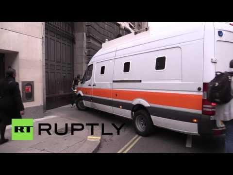 UK: ISIS supporter and 'Ginger extremist' arrive at Old Bailey for sentencing