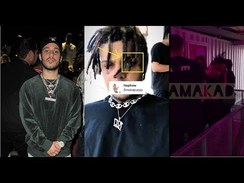 Russ and his crew confronts Smokepurpp in Germany for calling him a 'B*tch' and posting his sister.