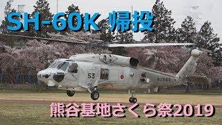 SH-60K シーホーク帰投 熊谷基地さくら祭2019