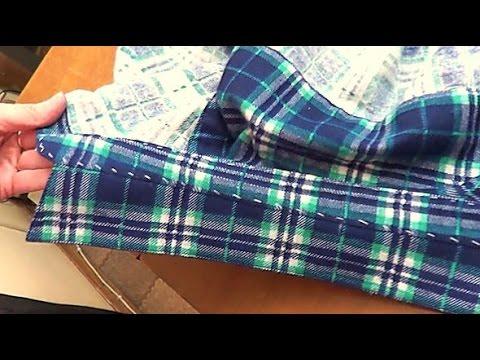 Воротник на стойке в мужской рубашке  #7#