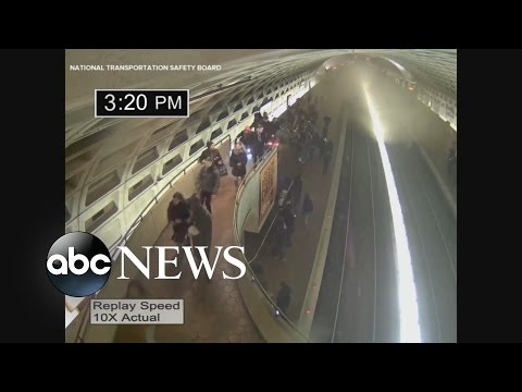 Fatal DC Metro Tunnel Incident [LIVE FOOTAGE]