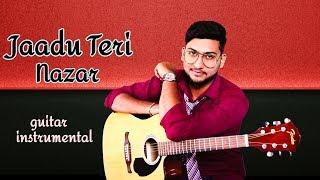 jaadu-teri-nazar-darr-shah-rukh-khan-juhi-chawla-udit-narayan-guitar-instrumental