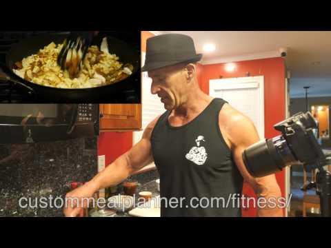 Delicious bodybuilder tofu scramble