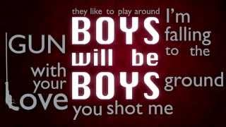 Paulina Rubio - Boys will be boys (Lyric video)