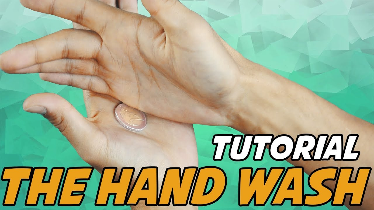 Münze Verschwinden Lassen Tutorial Erklärung Part 2 Hand Wash