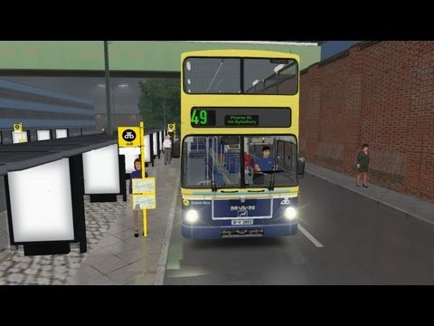 Omsi the bus Simulator Dublin Bus route 49