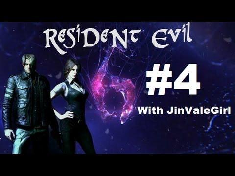 Resident Evil 6 Walkthrough parte 4 - L'inferno in Terra