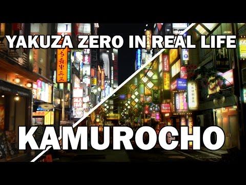 Yakuza Zero Real Life Comparison - Kamurocho