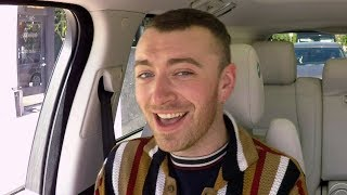 Sam Smith SLAYS Carpool Karaoke & Gets a Surprise From Fifth Harmony