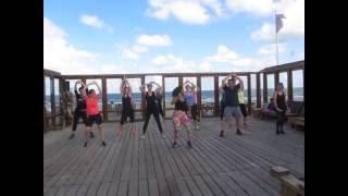 Ran Kan Kan | Salsa | Zumba on the Beach!