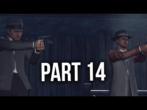 LA Noire Remastered Gameplay Walkthrough Part 14 - THE BLACK CAESAR (VICE)