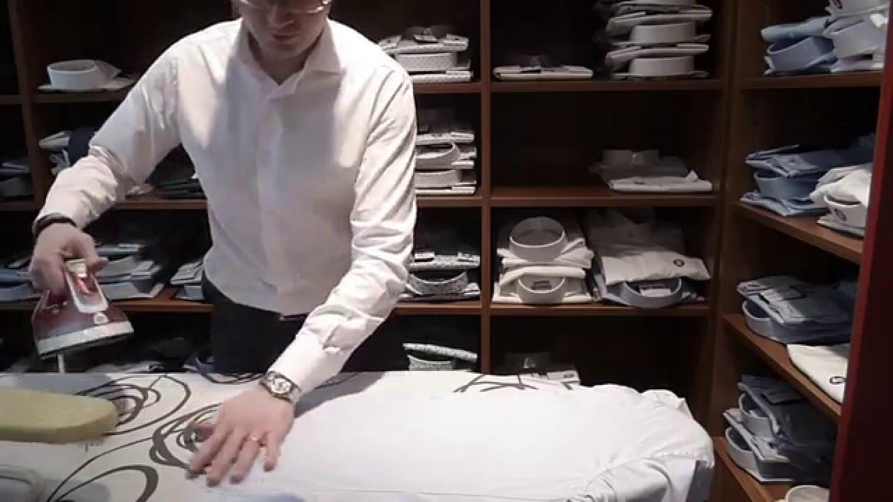 repasser une chemise etape 3 le corps tutoriel men 39 s. Black Bedroom Furniture Sets. Home Design Ideas